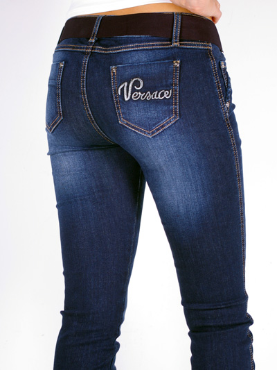 Versace+Jeans+With+Belt+For+Women+Denim+Blue+g_3652_22685